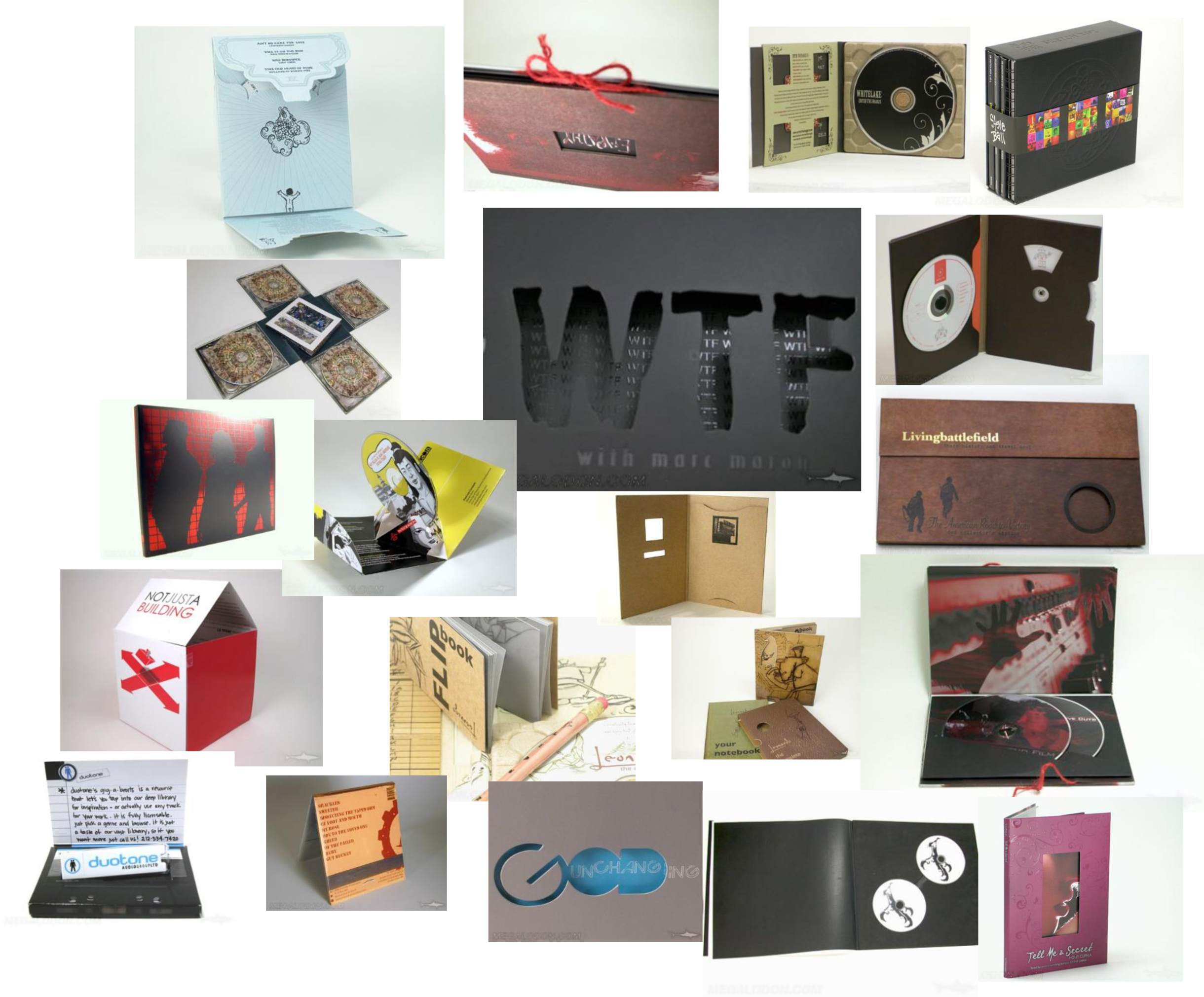 custom creative cd packaging