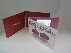 Greeting video cards birthday romantic