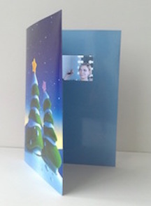 video greeting card manufacturing