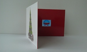 christmas video card manufacturing