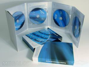 custom 4 dvd Digipak Multidisc Set Packaging