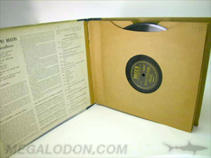 custom vinyl LP record packaging