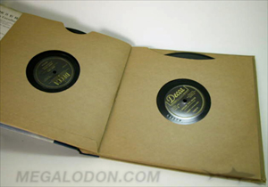 vinyl LP record custom packaging sleeve book