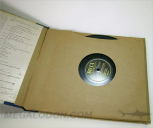 VInyl LP record sleeve packaging set