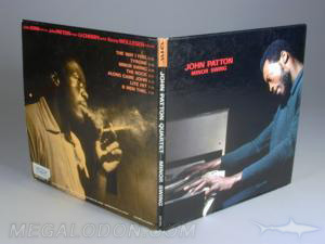 Blue Note vinyl style LP CD Cover packaging authentic retro