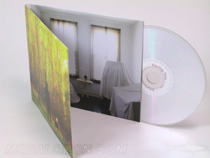 CD LP Album cover outward pocket facing right