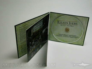 cd jacket with booklet attached to spine