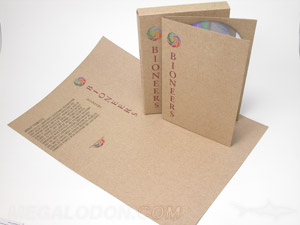 Fiberboard Slipcase Set mailing box