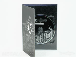 Custom serialized dvd digipak packaging