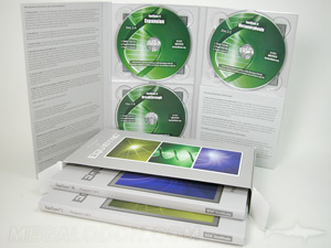 Multidisc packaging and replication 3 tray pack set