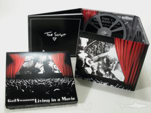 8pp digipak 2cd set booklet glued