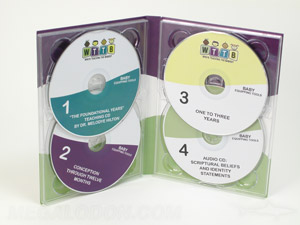 DOuble disc tray digipak packaging