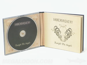 Custom CD Packaging CD Book Printing using cream colored paper