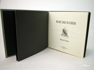 DVD book vintage retro black kraft paper inner pages cream green linen