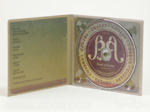 digipak fiberboard paper stock cd packaging