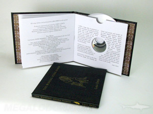 Special edition hardcover cd book manufacturing and replication