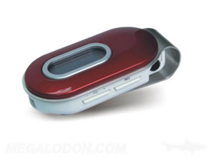 mp3 player manufacturing rounded model red