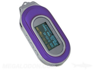 mp3 audio player purple