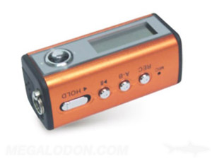 orange mp3 player manufacturing