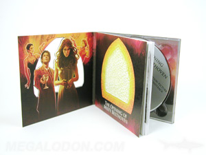 creative cd digipak packaging die cut shape cut out intricate