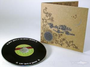 metallic ink printing on fiberboard cd jacket