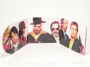 6pp CD Trifold Jacket disc and booklet