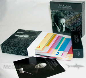 Multidisc box set packaging Top loading cd box set  12 cd set or 12 dvd set