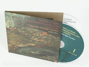 CD jacket packaging fiberboard 2 disc mini LP