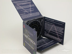 Unique folding cd packging, cross or plus shaped jacket