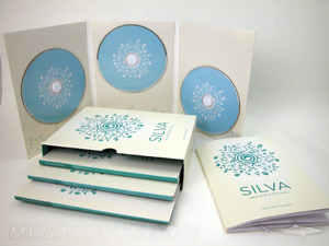slipcase set packaging multidisc  jackets foam hubs
