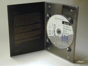 DVD fiberboard packaging digipak