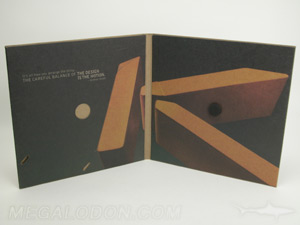creative cd packaging magnetic folder