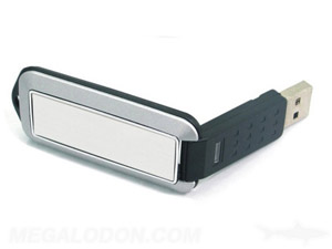 flip usb black and white up to 3C print