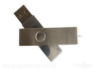 gold usb drive manufacturing push button