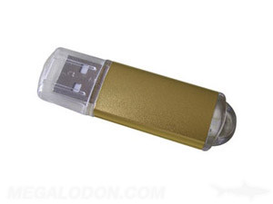 usb gold thumb drive manufacturing