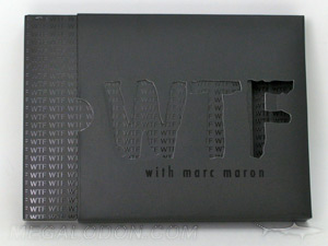 custom cd digipak slipcase for 6pp digipaks with cut out lettering and spot gloss matte lamination