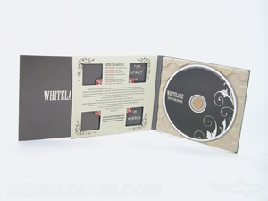 creative cd  digipaks paper tray die cut windows