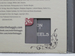 die cut window digipak packaging