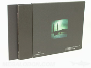 Slipcase set uncoated paper matte