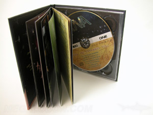 cd digibook packaging with pages and tray