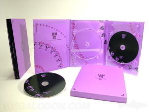 Custom dvd digipaks two trays diagonal literature pocket booklet slipcase 6pp tall digipak