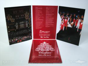 Tall trifold jacket cd dvd