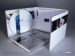 6pp digipak 2cd booklet in slot pocket