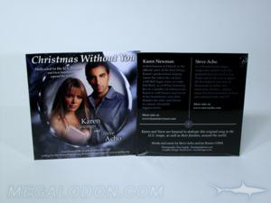 christimas release cd packaging