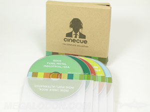 custom cd box packaging set vellum sleeves