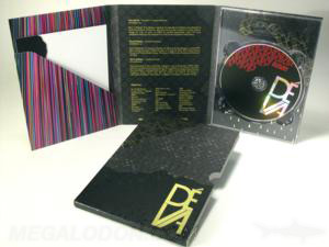 Custom dvd digipak foil stamping embossing spot gloss 6panel tall dvd packaging