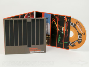 CD LP jacket trifold