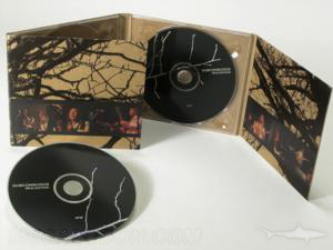 Fiberboard Digipak 8pp double disc