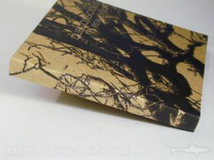 custom digipak fiberboard paper black ink printing