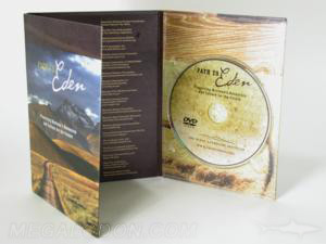Matte digipak uncoated stock 6panel